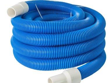blauer Schlauch schwimmend - Zubehör Profi-Schlammsauger, Teichreinigung, Fischteich, Gartenteich