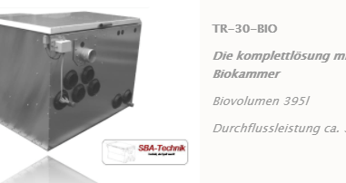 SBA Trommelfilter TR-30 mit Biokammer, Teichfilter, Filtertechnik, Teich