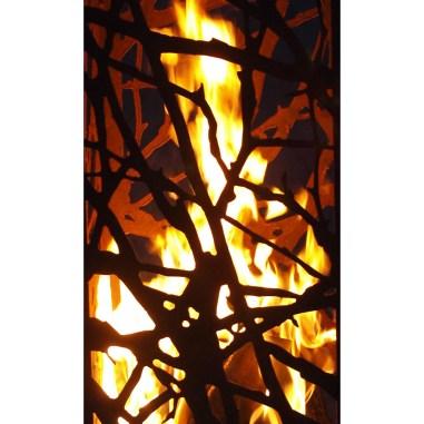Ast Feuersäule Rost, Gartendekoration