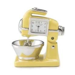 yellow mixer clock