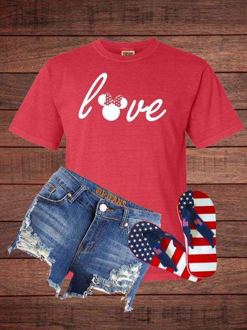 Love - Minnie - Comfort Colors