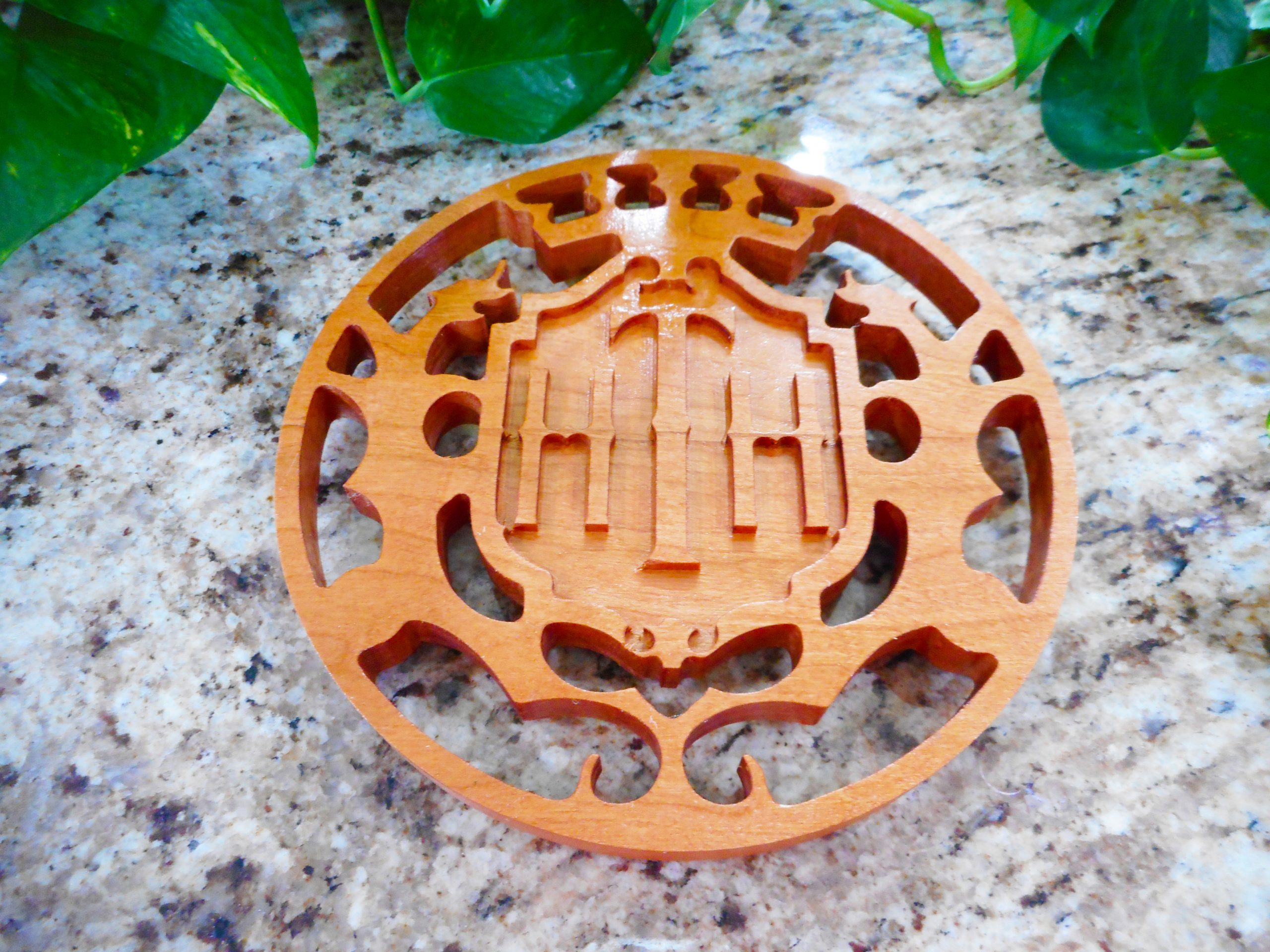 Tower of Terror Trivet