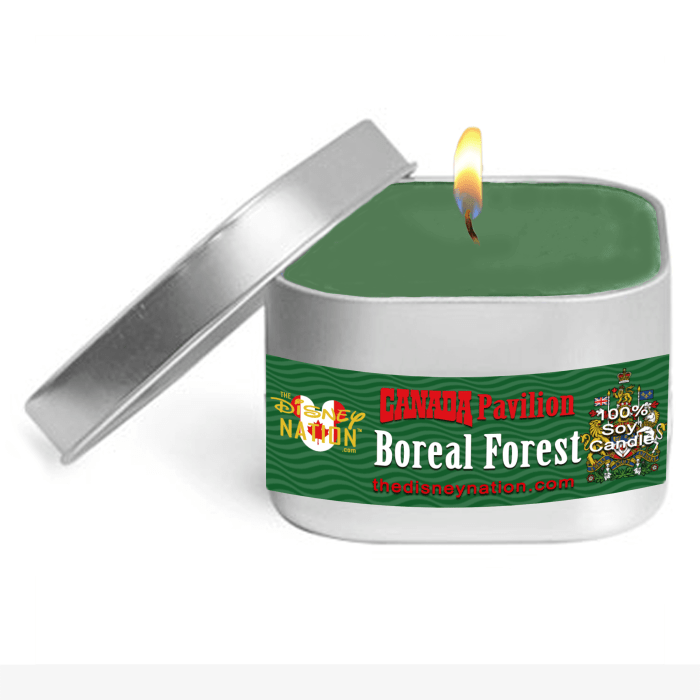 Canada Pavilion - Boreal Forest Fragrance Candle Small