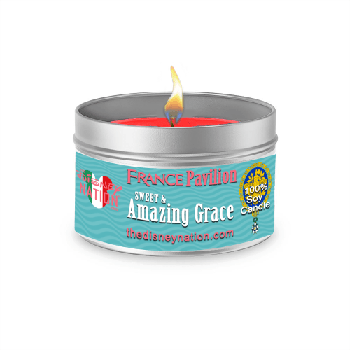 France Pavilion - Sweet & Amazing Grace Fragrance Candle Large