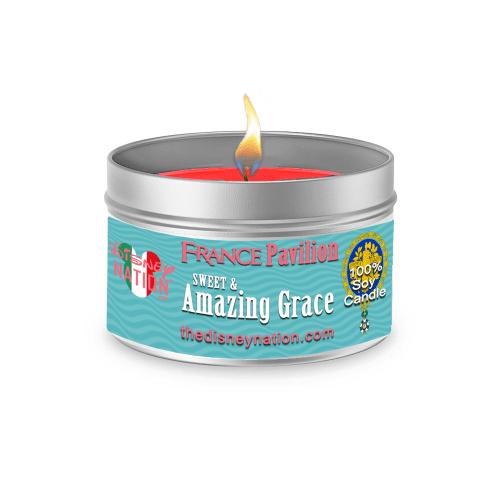 France Pavilion - Sweet & Amazing Grace Fragrance Candle Large
