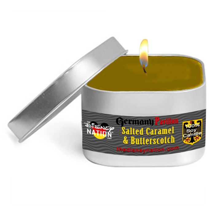 Germany Pavilion - Salted Caramel & Butterscotch Fragrance Candle Small
