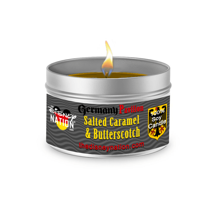 Germany Pavilion - Salted Caramel & Butterscotch Fragrance Candle Large