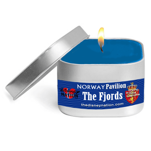 Norway Pavilion - The Fjords Fragrance Candle Small
