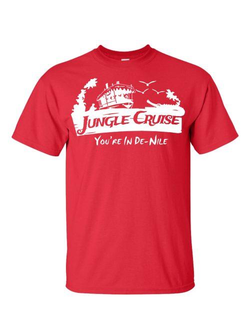 Jungle Cruise Red T-Shirt