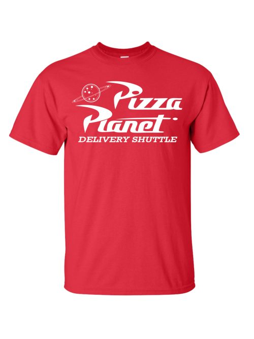 Pizza Planet Delivery Shuttle Red Shirt