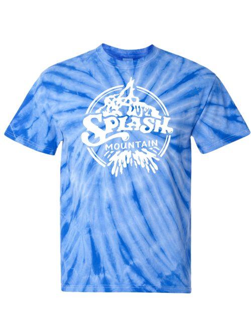 Splash Mountain Tie Dye T-Shirt