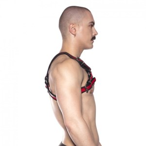 Prowler RED Bull Harness Black/Red
