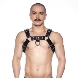 Prowler RED Butch Harness Black/Silver