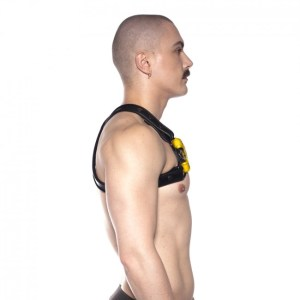 Prowler RED Cross Harness Black/Yellow