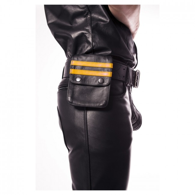 Prowler RED Leather Wallet Yellow OS