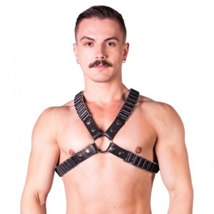 Prowler RED Ballistic Harness Black/Silver