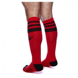 Prowler RED Football Sock Black/Red OS