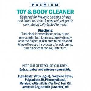 Swiss Navy Toy and Body Cleaner Transparent 6oz