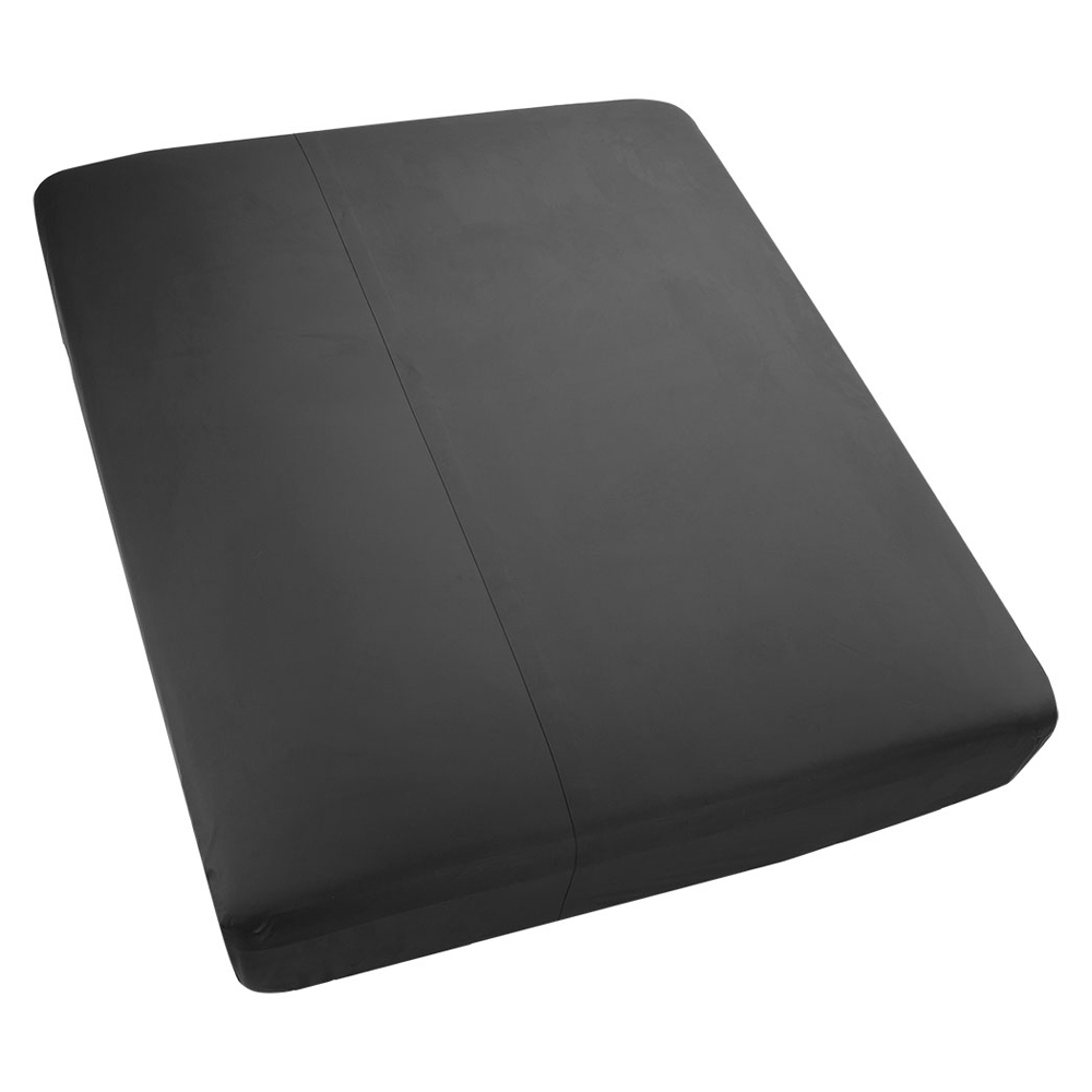 KINK Wet Works Fitted Waterproof Sheet Black Queen