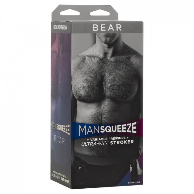 ManSqueeze Bear Vanilla