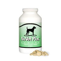 Nuvet for aging and skin problems dogs