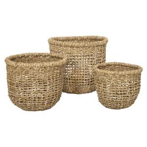 Luena+Seagrass Jute+Basket