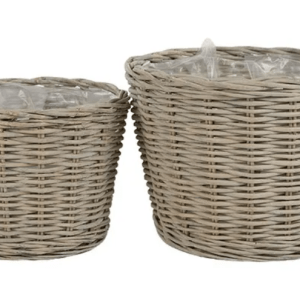 Willow Basket Planters