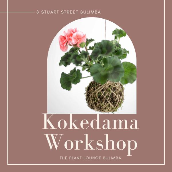 Kokedama Workshop The Plant Lounge