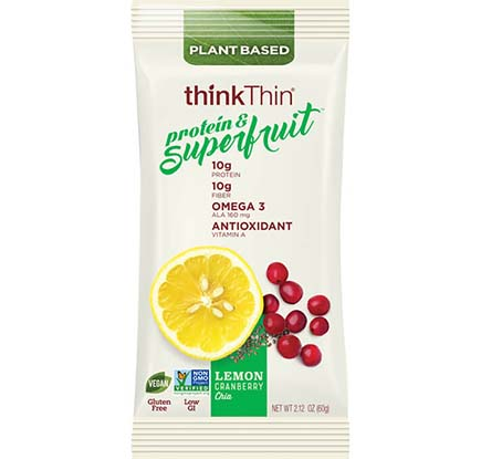 Lemon Cranberry Chia Protein & Superfruit Bar [tkp-713267.jpg] - Click for Details