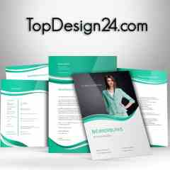 Bewerbungsvorlage - Green-Light - TopDesign24