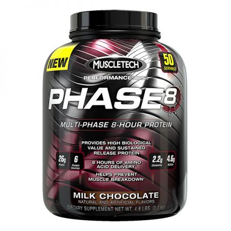 Muscletech Phase-8 Milk Chocolate