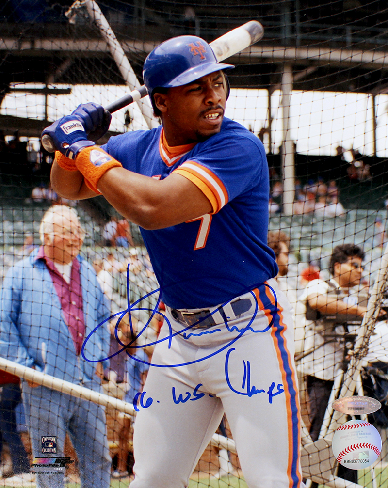 Kevin Mitchell Autographed New York Mets 8x10 Photo