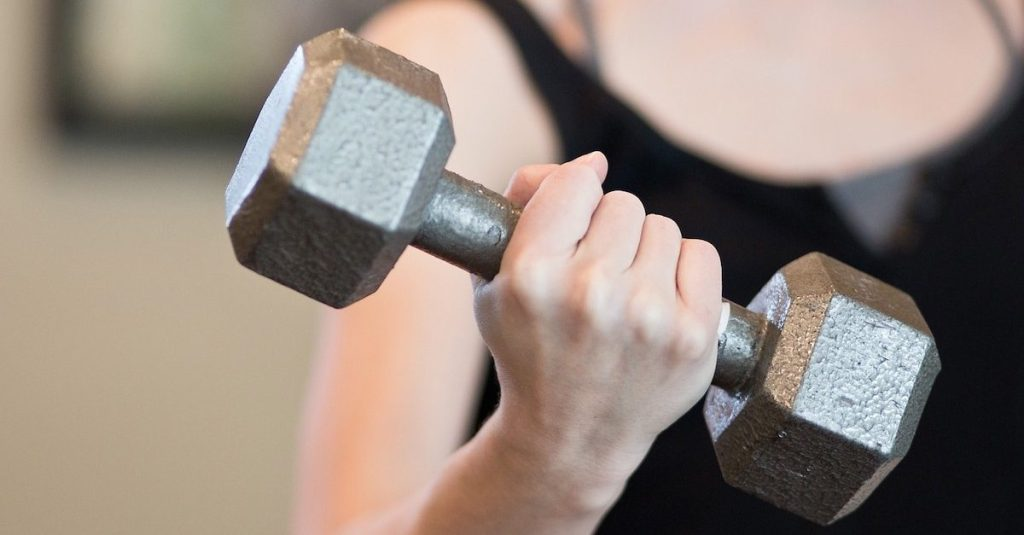Arm Curls. 10 Simple Arm-Strengthening Exercises.