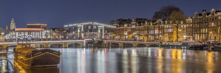 Amsterdam by Night foto - Magere Brug | Tux Photography
