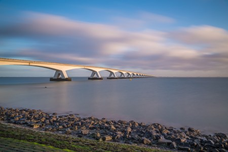Zeelandbrug in de morgen | Tux Photography Shop
