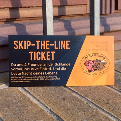 TV-Club Supporter Skip-The-Line Ticket