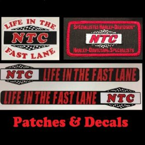 Patches and decals
