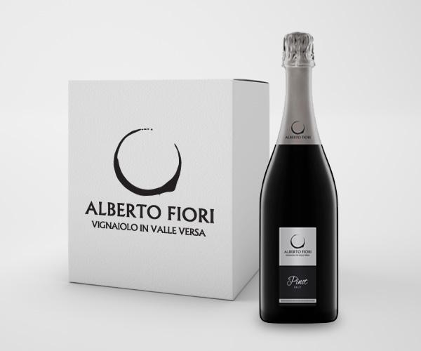 Spumante Brut Oltrepò Pavese Pinot Nero DOC - Confezione da 6