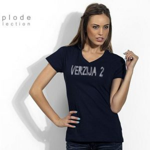 T-Shirt Lady Navy Blue