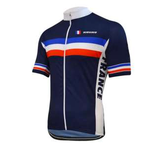 maillot cyclisme france tricolore
