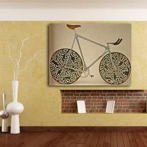 cinelli laser toile vélo décoration tableau affiche