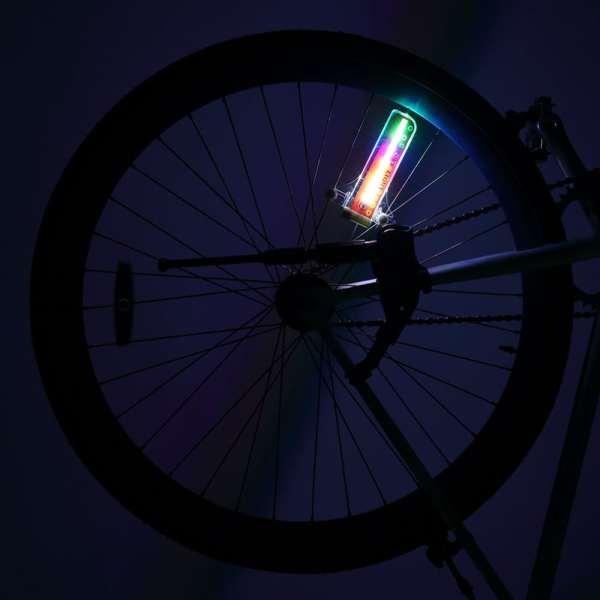 led lumière lampe rayons bande lumineuse motif multicolore