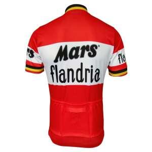 mars flandria maillot vélo course vintage eroica