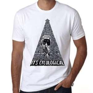 t shirt velo it's cyclological
