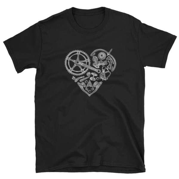 tshirt t-shirt vélo course vintage campagnolo campy