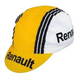casquette cycliste vintage renault hinault
