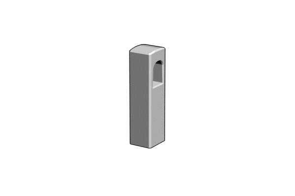 betonkorlat oszlop