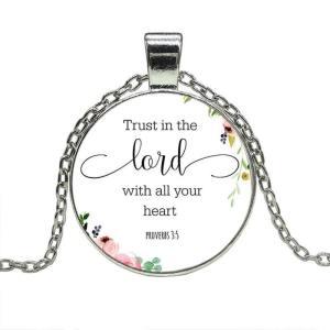 bible verse necklace