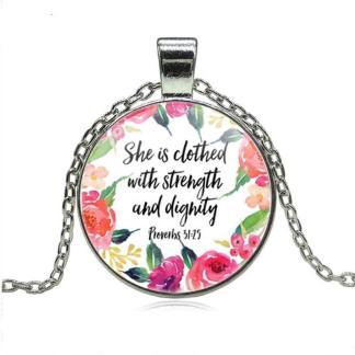 Strength & Dignity necklace