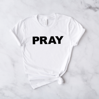 pray short sleeve shirt